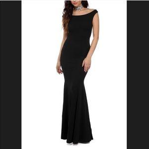 Off the Shoulders Mermaid Dress